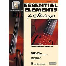 Hal Leonard Essential Elements Strings Violin Book 1