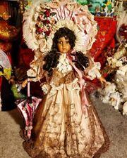 Pat Loveless Antique Rare Black Bru Jne 24 Victorian French all Porcelain Doll