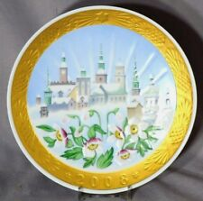 ROYAL COPENHAGEN 2008 Christmas Plate FULL COLOR Limited Edition of 199