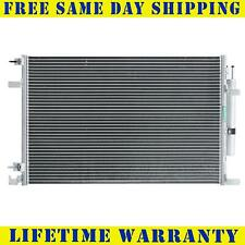 A/C Condenser For 2015-2018 Ford Mustang V6 V8 3.7L 5.0L 5.2L Fast Free Shipping