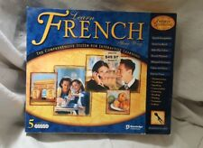 Learn French Comprehensive Learning System w/ Mic Windows 5 Disc Set Unused