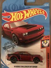 Hot Wheels  '18 Dodge Challenger SRT Demon