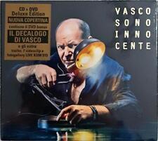 Vasco Rossi Sono Innocente  Deluxe Edition  Digipack Cd + DVD Sigillato Sealed