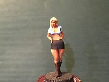 1/24 1/25 or G Scale Resin Model Kit, Sexy action Figure Cow Girl Olivia #95