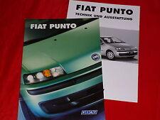 FIAT PUNTO S SX ELX HLX SPORTING HGT prospetto di 2/2000