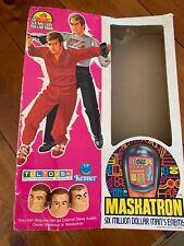 Vintage 1970s Kenner Six Million Dollar Man Maskatron Box only