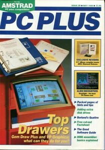 D131712 PC Plus Vintage Computer Magazine Issue Nr. 20 May 1988