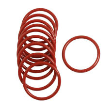 10 Stueck Silikon O-Ring Oil Seal Dichtungen Waschmaschine Rot 32x2.5x27mm U3C2