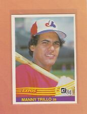 1984 DONRUSS BASEBALL #575 MANNY TRILLO EXPOS NRMT *63183