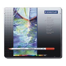 24 X Staedtler Karat Aquarell artista Acuarelable Lápices De Colores Regalo Tin