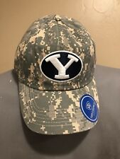 BYU Cougars  Top of the World Hat Cap Camo Snapback American Flag Patch