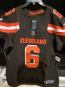 BNWT NIKE NFL Baker Mayfield Cleveland Browns Vapor Elite Jersey Mens 44/48 $325