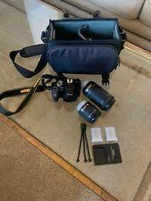 Nikon D3400 with 18-55mm VR Lens Kit & Extra Accessories DSLR Camera - Black