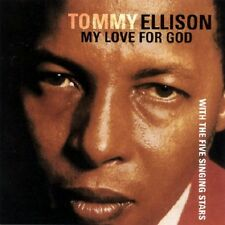 Tommy Ellison  - My Love for God - New Factory Sealed CD