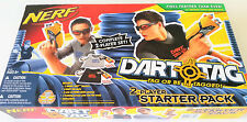 New Hasbro NERF Gun Dart Tag Shot Blasters - Complete 2 Player Starter Pack Set