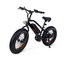 Bicicleta electrica Monster 7 velocidades color negra envio urgente 24/48h