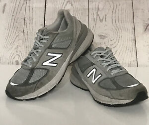 New Balance  990v5 Made In US Women Running Shoes Cool Gray Size 8B