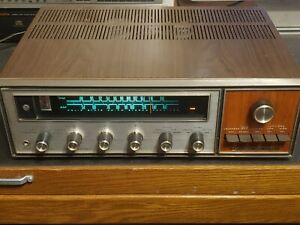 Vintage Kenwood Model TK-140X Stereo Receiver : powers on for parts