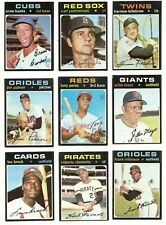 1971 Topps Series 5  * You Pick * Stars and Commons (524-643) Conditions Listed