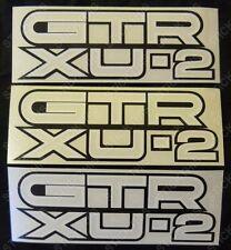 Suits Holden LC - GTR XU2 XU-2 Guard Decals x3 - Reproduction Screen Printed!
