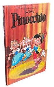 PINOCCHIO Collodi libro illustrato per bambini Walt Disney fiaba favola racconto