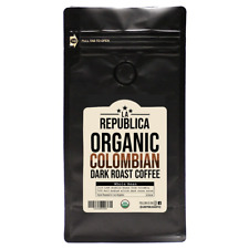 La Republica Organic COLOMBIAN Dark Whole Bean Coffee • Roasted in Los Angeles