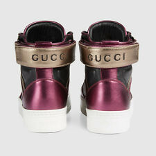 Gucci Femme Haut Top Baskets Chaussures UK6 39 Neuf Authentique