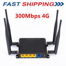 4G LTE OpenWRT WiFi Wireless Router Extender Network SIM Card 5dbi Antenna F8G6