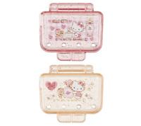 Set of 2 JAPAN Sanrio Hello Kitty Dental Toothbrush Head Cap Pink Yellow Travel