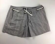 Diesel Black Gold Osten-A Women's Pleated Skirt Size 42 Pale Gray (G449)