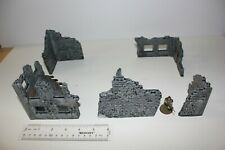 Armorcast Ruined Building Corners #2 (cool terrain, ready to play)