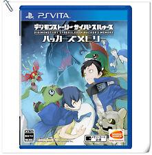 PSV Digimon Story Cyber Sleuth Hacker's Memory ENG / 数码宝贝 骇客追忆 中文版 RPG Games