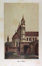 Kaiser-Dom St. Peter Worms Mittelalter Architektur Turm Romanik Bischof Burchard