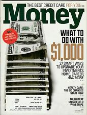 Money Magazine October 2013 FREE SHIPPING (Buy 1 Get others at 50% off )