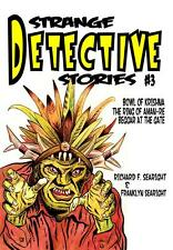 129 STRANGE DETECTIVE STORIES #3 Rainfall chapbook. Weird detective fiction