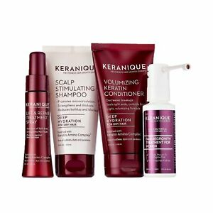 Keranique Deep Hydration Hair Regrowth System – 30 Days   Keratin Complex, Fr...