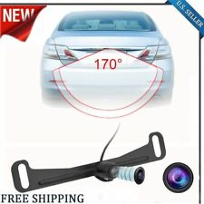 NEW Waterproof License Plate Car Rear View 7X LED Reverse CMOS Backup Camera OY