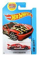 Hot Wheels 1:64 Diecast Model - Custom 2012 Ford Mustang #18 - Hot Wheels City