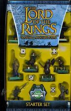 COMBAT HEX THE LORD OF THE RINGS TRADEABLE MINIATURES GAME STARTER SET
