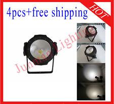 4pcs 120W White And Warm White COB Led Par Light DJ Par64 Light Free Shipping