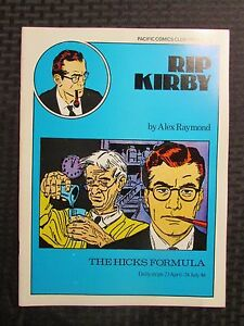 1980 RIP KIRBY The Hicks Formula #2 VF 8.0 Pacific Comics Club Alex Raymond