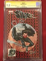 SILK #2 HOMAGE PHANTOM RED VARIANT CGC Signature Series 9.8 Signed By Stacey Lee