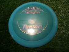 new Firestorm Champion 171 blue distance driver Innova disc golf 14 4 -1 3