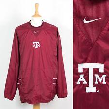 Hommes Nike Coupe-Vent Veste Haut Texas A&M University USA Collège 2XL XXL