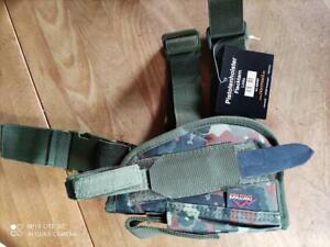 Tiefziehholster links Bundeswehr für P8, Glock 17, Walter P99 etc. tarnfleck neu