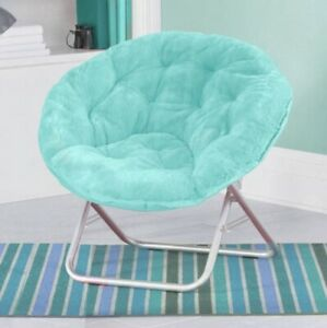 Mainstays WK659843 Faux-fur Saucer Chair