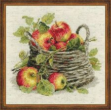 Counted Cross Stitch Kit RIOLIS - RIPE APPLES