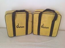 USED DATUM PRISM AND TARGET BAG - GOOD CONDITION - SURVEYING EQUIPMENT SURVEY