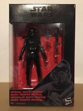 "Star Wars Imperial Death Trooper 3'75"" Black Serie"