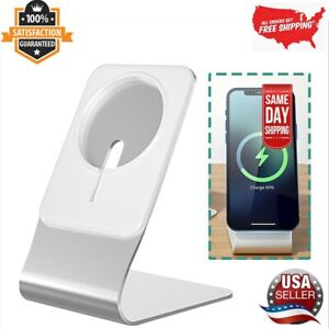 Magnetic Wireless Charging Stand Desktop With Mag Safe For iPhone 12 Pro Max